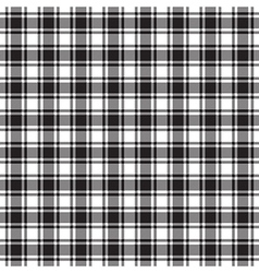 Black white check texture seamless pattern vector