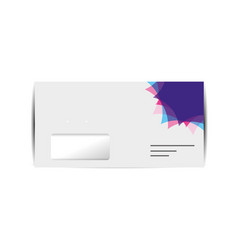 Branding envelope design vector