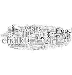 Chalk and noah s flood vector