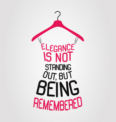 fashion dress made from a quote vector image