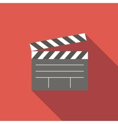 Film flat icon vector image