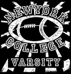 New york typography t shirt graphic vector