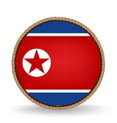 North Korea Seal vector