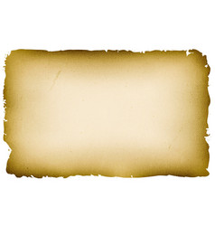 Old textured parchment background vector