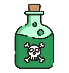 Poison linecolor vector