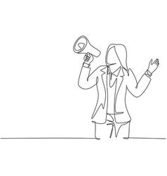 Public speaking practice concept single vector