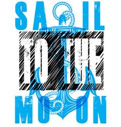 Sail poster vector
