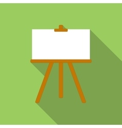 Canvas flat icon vector image