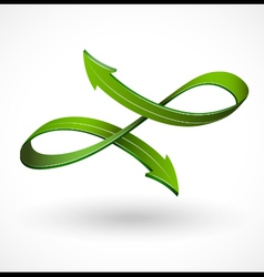Abstract arrow vector image