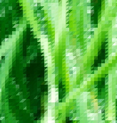 Grass themed background with triangular grid vector image