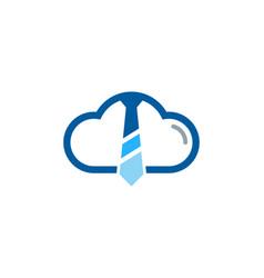 Sky job logo icon design vector