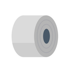 Steel roll icon vector
