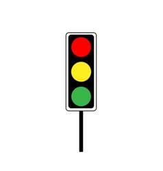 Stoplight sign vector