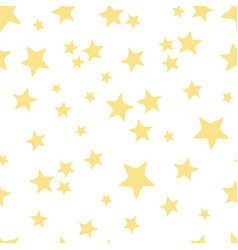 yellow star toss vector image