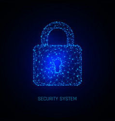 secure digital space programming protection vector image