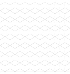 Subtle geometrical seamless pattern vector image vector image