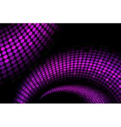 purple snake background vector image