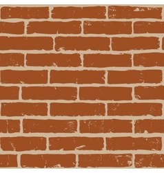 brrick wall vector image