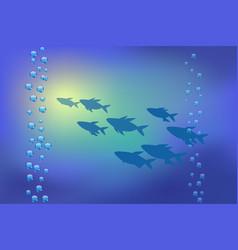 Underwater background for vector