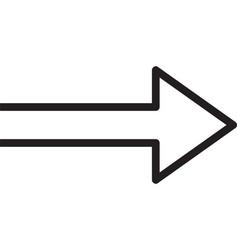 app application arrow arrowheads back black vector image