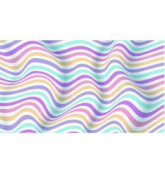 layouts with lines wavy striped surface vector image
