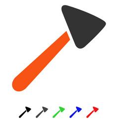 Neurologist hammer flat icon vector