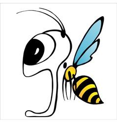 Wasp or bee vector