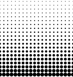 Geomentic Background Halftone vector image vector image