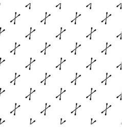 Cotton buds pattern vector
