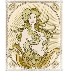 The mermaid vector image vector image