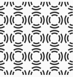 Abstract seamless pattern circles divided into vector