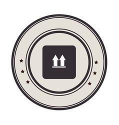 box carton packing icon vector image