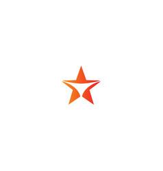 Star sign winner logo vector