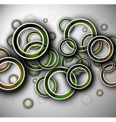 Background with circles vector image vector image