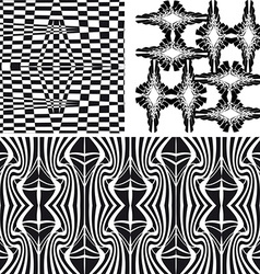 Patterns different seamless vector image
