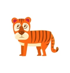 Tiger Toy Exotic Animal Drawing vector image vector image