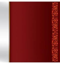 elegant template vector image