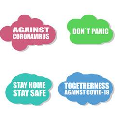 Against coronavirus icon covid-19 icon pandemic vector