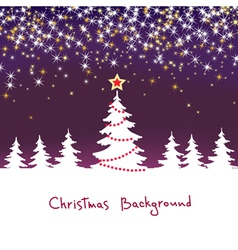 Christmas sparkle background vector