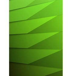Green layer business folder mock up template vector