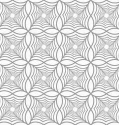 Slim gray pointy squares with offset twisted vector