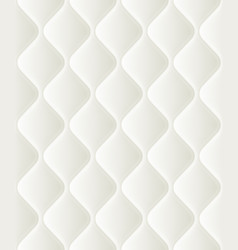 soft seamless pattern with waves in white eps 10 vector image