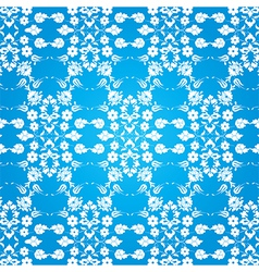 background with seamless pattern seven vector image