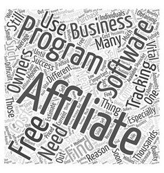 Free Affiliate Tracking Software Is There Such a vector