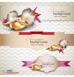 Holiday banners vector