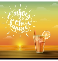 Lemonade on the horizon vector