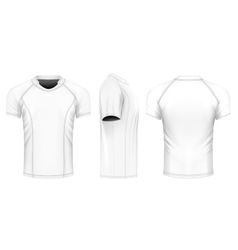 Rugby jersey vector