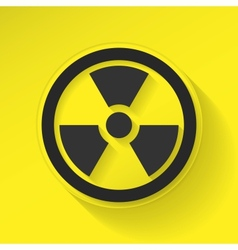 Sign Radiation vector image
