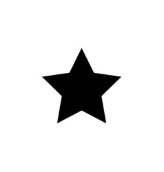 star icon image vector image