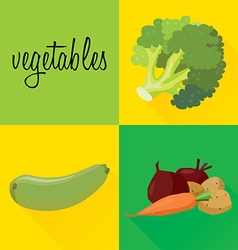 vegetables3 vector image